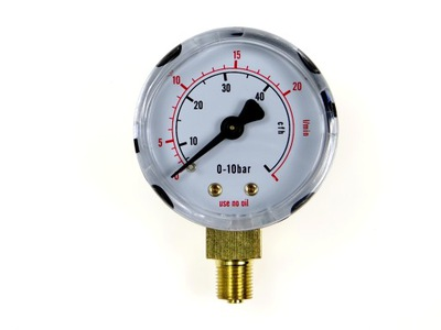 Manometr Mini Reduktora Argon/Co2 0-20l/min 1/8''