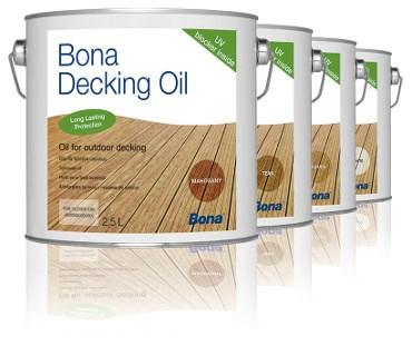 Bona Decking Oil 2,5l Olej do tarasów