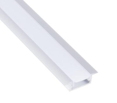 Профиль ALU встраиваемая ??? ленты LED молочный 1м