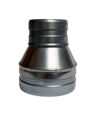 Zníženie 155/125 hadice spiro kapota ventilátor