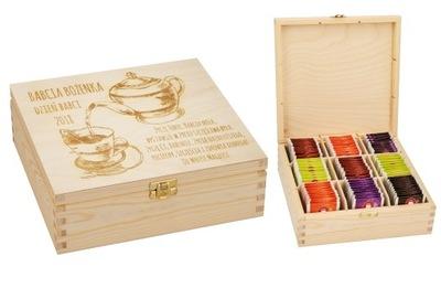 ??? ??? День Бабушки коробка чай гравер - 9
