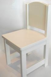Detská vysoká stolička z borovicového dreva rôznych farieb