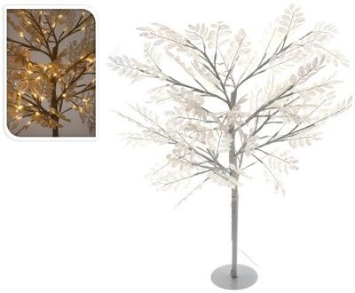 Vianočný stromček - Strom led svetlá biela veľké 96 LED 1m