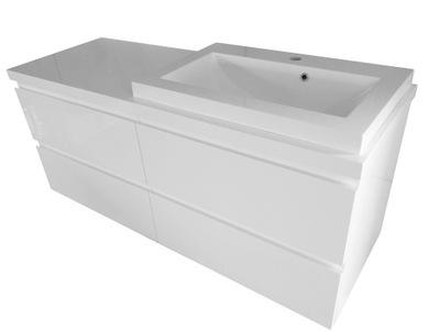 комплект ШКАФ для ванны ? instagram 60 СТОЛЕШНИЦА 120 СМ
