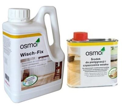 Осмо Wisch-Fix 8016 1л + Осмо 3029 прозрачный 0,5 л