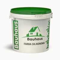 Farba silikónová fasádna Bauhaus 10 kg Kosbud