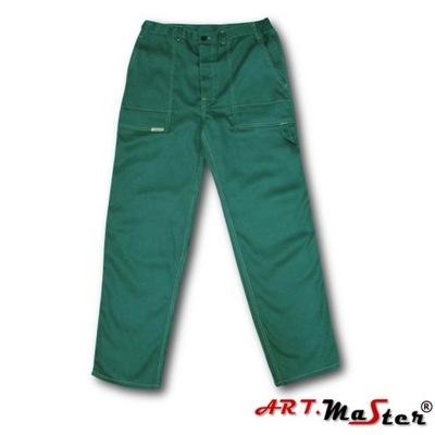 Spodnie robocze zielone Niska cena na Allegro.pl