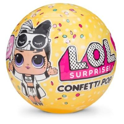Bábika LOL 3-série L. O. L. KONFETY POP VERZIA 2