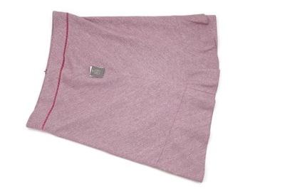 Spódnica midi Trapezowa Różowa S M L XL siateczka
