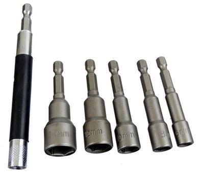 Príslušenstvo k vŕtačke - BITU6 nastaviť magnetický držiak magnet 6 ks