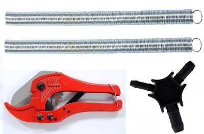 Nožnice na potrubie PEX+ kalibrator+ dve PRUŽINY