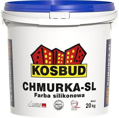 farba silikónová fasádna Kosbud 20kg
