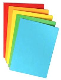 Papier kolorowy A4 mix FLUORESCENCYJNY 100szt