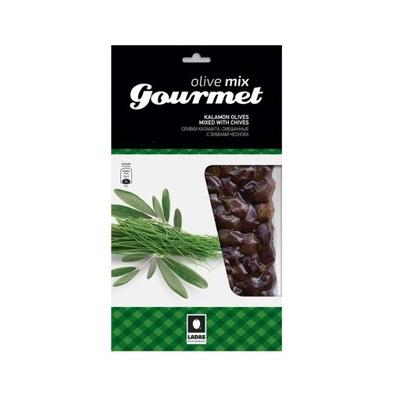 Оливки Каламата с зеленым луком 250г