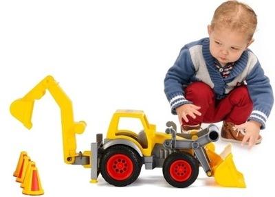 BAHNIAKY _DUŻA BAGER rýpadlo NAKLADAČ na traktor 0377