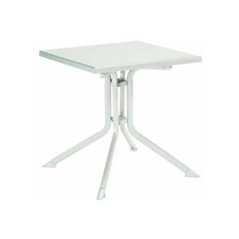 Kettler skladací záhradný stôl 80 x 80 cm biele