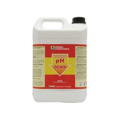 РЕГУЛЯТОР, УМЕНЬШАЮЩИЙ pH , GHE pH DOWN жидкость 5Л