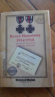 Krzyż Honoru 1914/1918 W ETUI i RAMCE HIT !!!