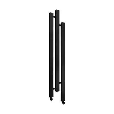 Черный блеск радиатор Декоративный Cubic 166 x 23