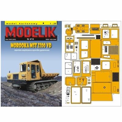 Modelik 4/14 Wywrotka MOROOKA MST 2200 VD 1:25