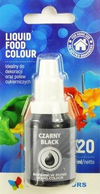 Пищевые красители в жидкости Черный 20 МЛ