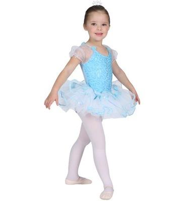 sukienka BALET AQUA do tańca TUTU SK587 4-5lat