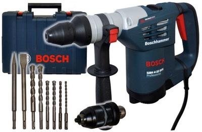 МОЛОТОК GBH 4 -32 DFR SET Bosch + 6 СВЕРЛА 2 СТАМЕСКИ