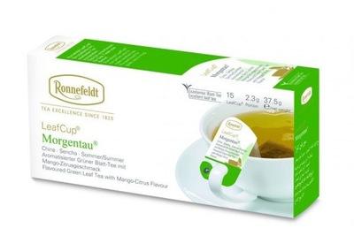 чай Ronnefeldt Morgentau зеленый 15 сумок