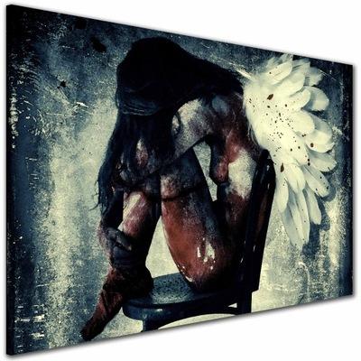 Картина на холсте ангел женщина ???