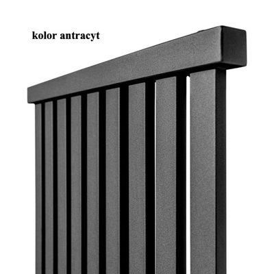 Radiátor LAZ/izby 570x700 MX 500 mm, ANTRACIT