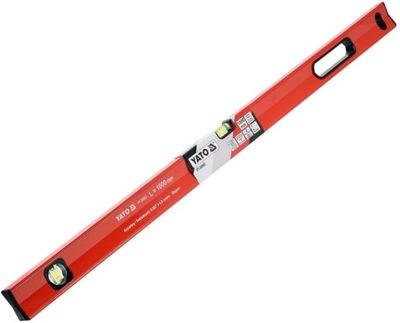 Laserový merač - Magnetická hladina 100 cm 2 injekčné liekovky YATO