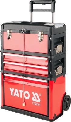 Yato коляска для инструментов модульная 3 элемент. YT-09101
