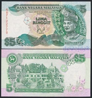 MAX - МАЛАЙЗИЯ 5 Малайзийский (1989) года. # UNC