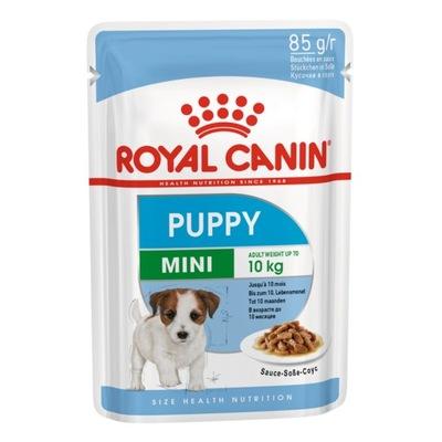 Royal Canin мини Щенок 85г саше для щенков
