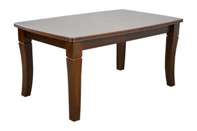 Duży drewniany stół rozkładany 8 nóg 100x160x400cm