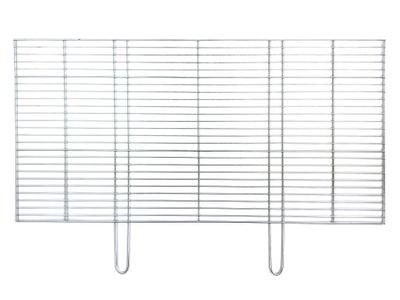 решетка для строительства гриля 100x50cm - ХРОМИРОВАННЫЙ