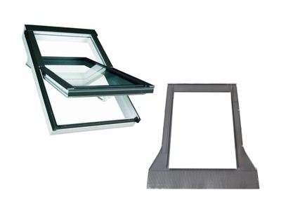 Окно-окна крыши OptiLight TLP 66x98 + воротник