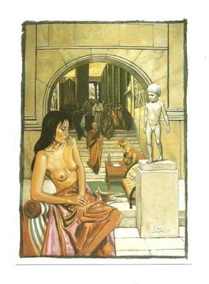 Открытка - Нико Vrielink, Патриций и раб.
