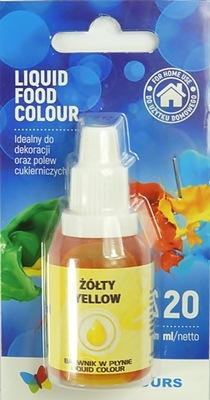 Пищевые красители в жидкости Желтый 20 МЛ