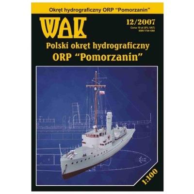 WAK 12/07 - Okręt ORP Pomorzanin 1:100