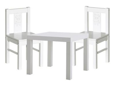 2 KRITTER 2x стульчик столик ЦВЕТА mammut Икеа