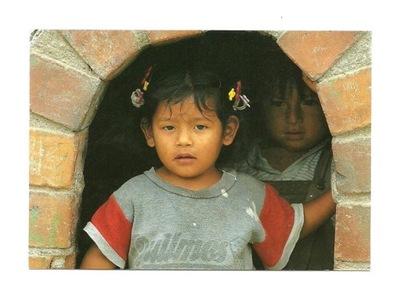 Pocztówka - F. Welman, Dziewczynka z el Salvador