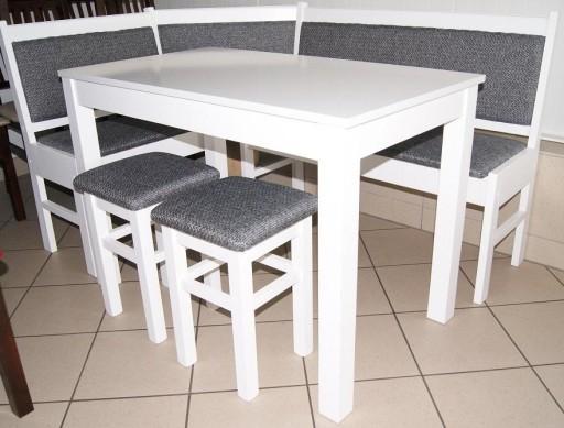 Narożnik Kuchenny N10 Stół Kuchnia Zestaw Biały 5993870942 Allegropl