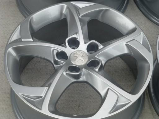 Oryginalne Felgi Peugeot 407 607 508 17 5x108 7675359944 Allegropl
