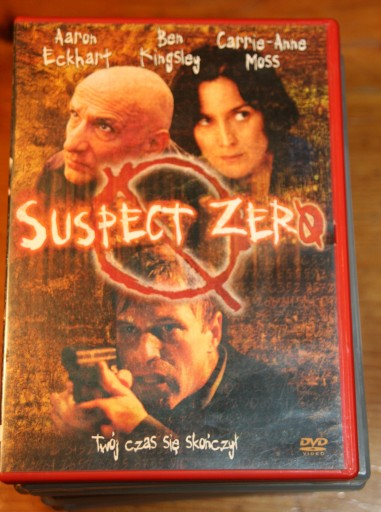 SUSPECT ZERO         DVD