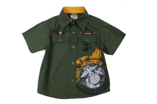 Koszula z nadrukiem marki QUAD SEVEN r 98 (B1036)