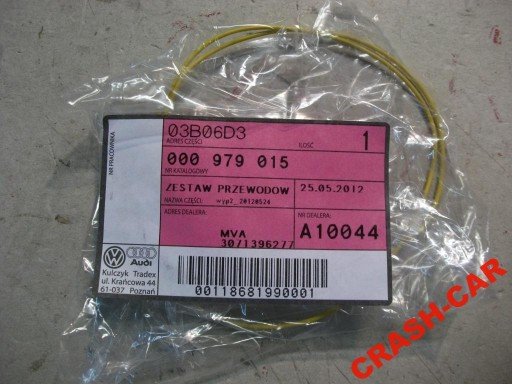 VW AUDI FIBER CABLE CABLE NEW 000979015