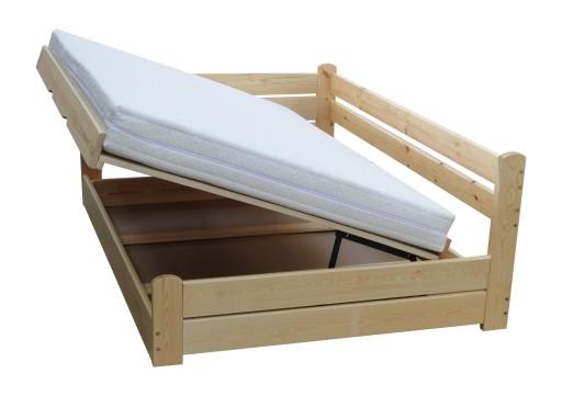 Forteca 90x200 łóżko Tapczan Każdy Wymiar 150kg