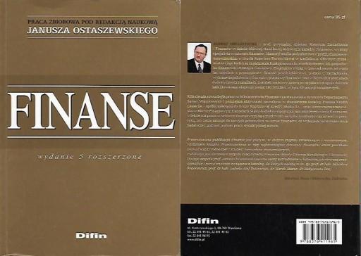 FINANSE / Ostaszewski (red.)