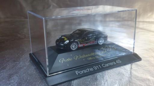 101998 Porsche 911 Carrera 4S Weihnachts Skala HO